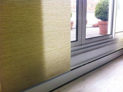 Plinthes sous portes vitrées