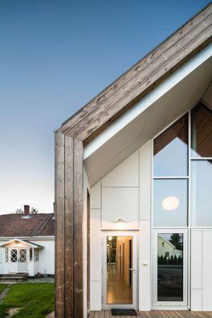 Portes Entrée Vitrées - Residence-Sellebakk Par Link Arkitektur - Sellebakk, Norvege