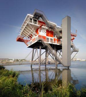 Réhabilitation atypique REM Island par Concrete - Amesterdam - Pays-Bas