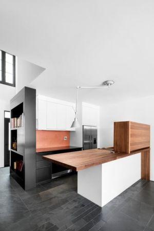 cuisine - Résidence LeJeune par Architecture Open Form - Montréal, Canada