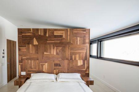 Chambre - Résidence du Tour par Architecture Open Form - Québec, Canada