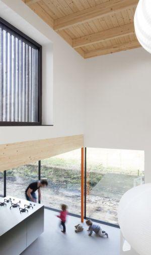 Rez de Chaussée & Baie Vitrée - huize-looveld par Studio Puisto Architects, Duiven, Pays-Bas