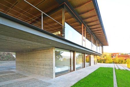 Rez de Chaussée - House Cs par Alvaro Arancibia - Cachagua, Chili