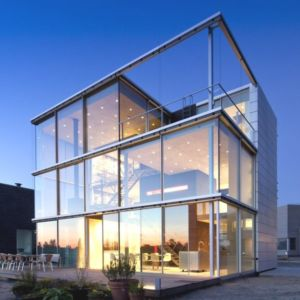 Rieteiland House par Van Heeswijk design - LJburg, Pays-Bas