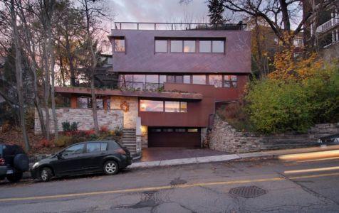 Route principale accès - Ellis Park House par Altius Architecture - Toronto, Canada