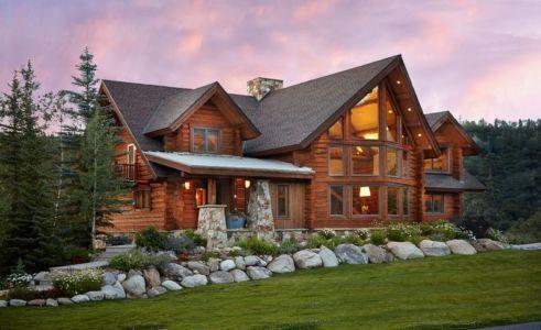 Rustic-Log-house - Colorado, USA | + d'infos