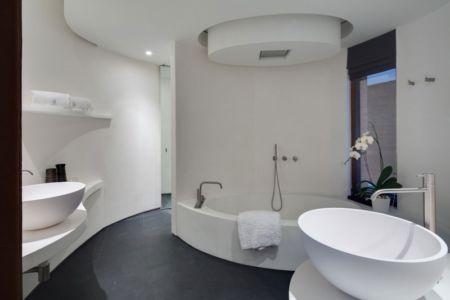 Salle de Bains Design - iniala-beach-house par Estudio & A-Cero - Phang Nga, Thaïlande