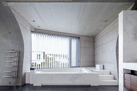 Salle de Bains - Private Residence par Eon Architects - Reykjavik,Islande