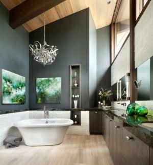 Salle de Bains - Valhalla Résidence par RKD Architects - Californie, USA