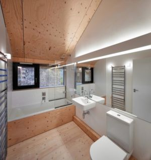 Salle de Bains - maison typique par WT Architecture - Biggar, Royaume-Uni