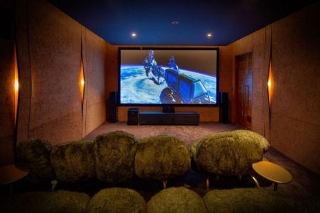 Salle de Cinéma - iniala-beach-house par Estudio & A-Cero - Phang Nga, Thaïlande