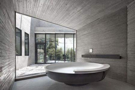 Salle De Bains - Songdo-House Par Architect-K En Coree Du Sud