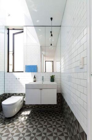 Salle De Bains - Unfurled-House Par Christopher Polly Architect - Sydney, Australie