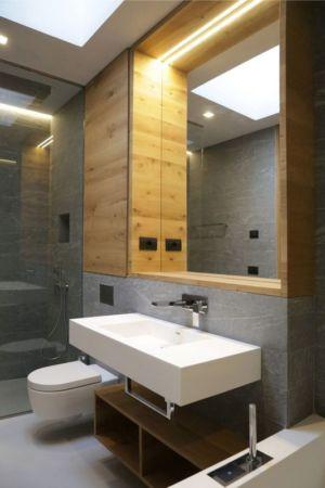 Salle De Bains - Villa-N Par Giordano Hadamik Architects - Imperia, Italie
