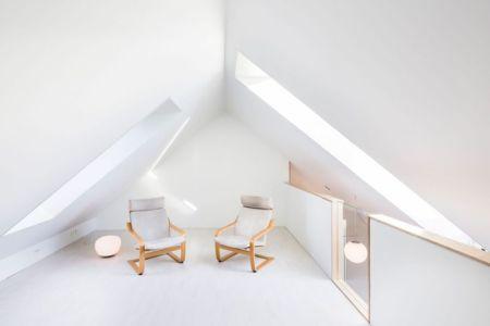 Salle Repos étage - Residence-Sellebakk Par Link Arkitektur - Sellebakk, Norvege