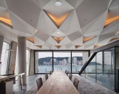 Salle Séjour - Songdo-House Par Architect-K En Coree Du Sud