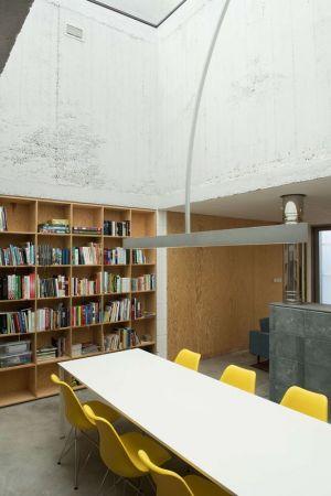 Salle Séjour & Bibliothèque - House-in-House Par Plural - Bernolakovo, Slovaquie