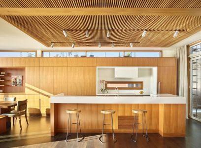 Salle Séjour & Cuisine - Floating-Home Par Vandeventer-Carlander - Seattle, USA