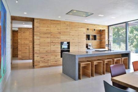 Salle Séjour & Cuisine - Villa-N Par Giordano Hadamik Architects - Imperia, Italie