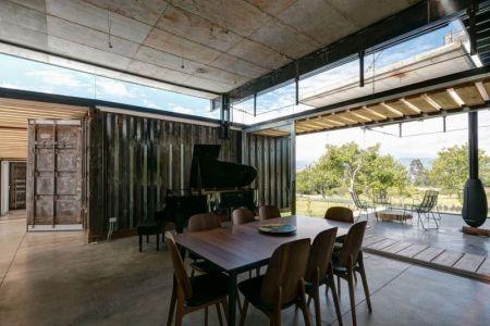 Salle Séjour & Piano - RDP House Par Daniel Moreno Flores - Pichincha, Equateur