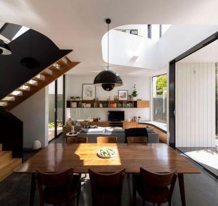 Salle Séjour & Salon - Unfurled-House Par Christopher Polly Architect - Sydney, Australie