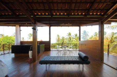 Salon Etage - Casa Tropical par Camarim - Mundau, Brézil