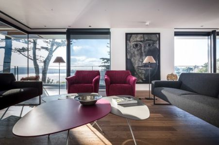 Salon Etage - house-crozon par Pierre-yves Le Goaziou - Crozon, France