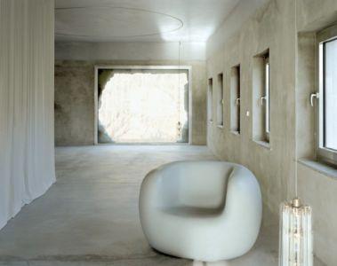 Salon Privée & Baie Vitrée - Antivilla par Brandlhuber, Potsdam, Allemagne