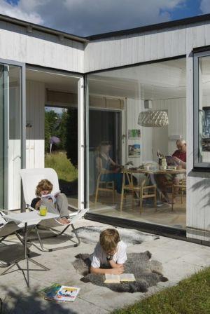 Salon Terrasse Design - juniper-house par Murman Arkitekter - Kattammarsvik, Suède