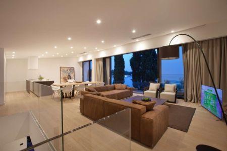 Salon - Villa Materada par Proarh, Croatie.jpg