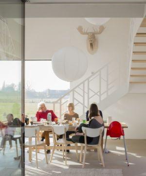 Salon - huize-looveld par Studio Puisto Architects, Duiven, Pays-Bas