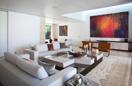 Salon & tableau deco design - SV-House par A-Cero - Seville, Espagne