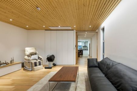 Salon - House-Dongmang Par 2m2 Architects - Geoje, Coree Du Sud