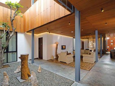 Salon Ouverte - Akanaka Par RAW Architecture - Jakarta Indonésie