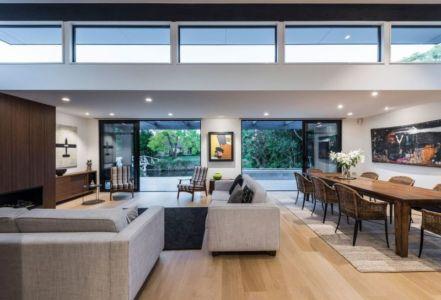 Salon & Salle Séjour - Bradnor-Road Par Cymon Allfrey Architects - Fendalton, Nouvelle-Zelande