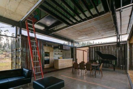 Salon & Salle Séjour - RDP House Par Daniel Moreno Flores - Pichincha, Equateur