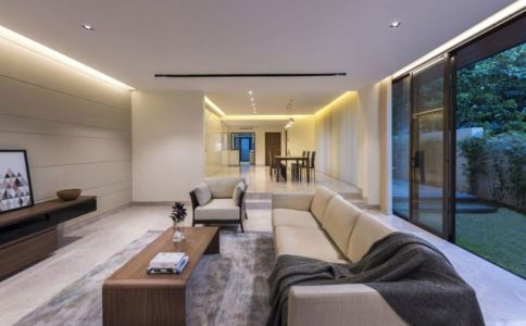 Salon & Salle Séjour - Spacious-Home Par ADX Architects - Singapour
