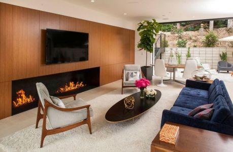 Salon & Salle Séjour - Mid-century-family-home Par Nakhshab - San Diego, USA