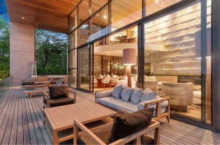 Salon Terrasse Design - Hampton-Home Par Barnes Coy Architects - Hamptons, USA