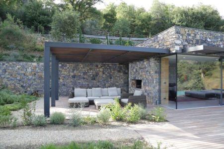 Salon Terrasse Design - Villa-N Par Giordano Hadamik Architects - Imperia, Italie