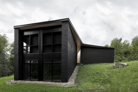 Screenhouse par Alain Carle architecte - Wentworth-Nord, Canada - Photo Adrien Williams - + d'infos