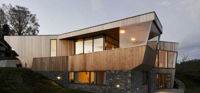 Split House par studio JVA - Norvège