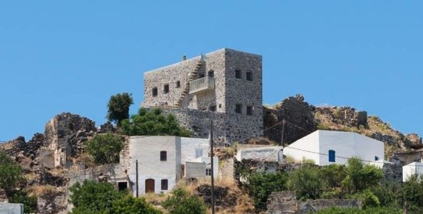 Sterna residence par Giorgos Tsironis and Greg Haji Joannides - Nisyros, Grèce