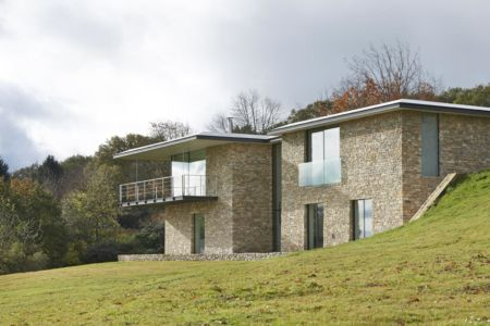 Stone-House par Manser Practice Architects+Designers, Angleterre | + d'infos