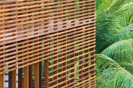 brise soleil - Casa Tropical par Camarim - Mundau, Brézil