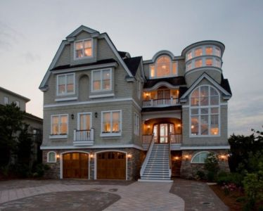 Stunning contemporary beach house retreat par Bruce Palmer Interior Design - Philadelphia, Pennsylvania - Usa - + d'infos