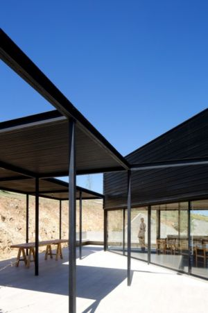 Table Terrasse Design - houses-10-and-10-10 par Gonzalo Mardones - Tierras Blancas, Chilie