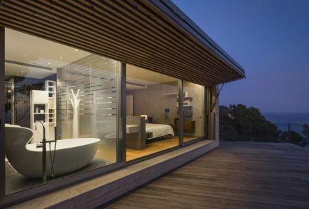 Terrasse - Casa Llorell par dosarquitectes, Costa Brava, Espagne