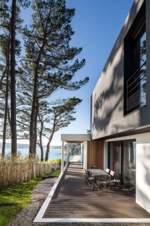 Terrasse Design Extérieur - house-crozon par Pierre-yves Le Goaziou - Crozon, France