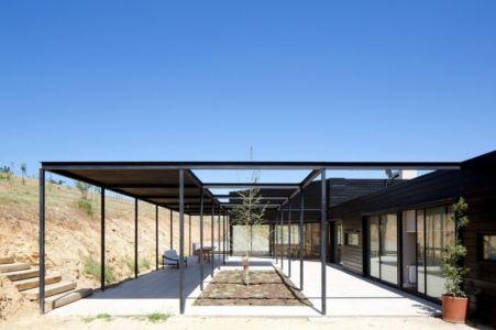 Terrasse Extérieur - houses-10-and-10-10 par Gonzalo Mardones - Tierras Blancas, Chilie